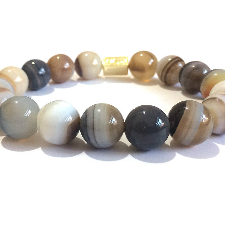 Botswana natural stone bracelet,Botswana bead,Botswana beads,natural stone bracelet,handmade bracelets natural gemstones ,italian style jewelry ,Made In Italy ,handmade bracelets ,womens bracelets ,mens bracelets