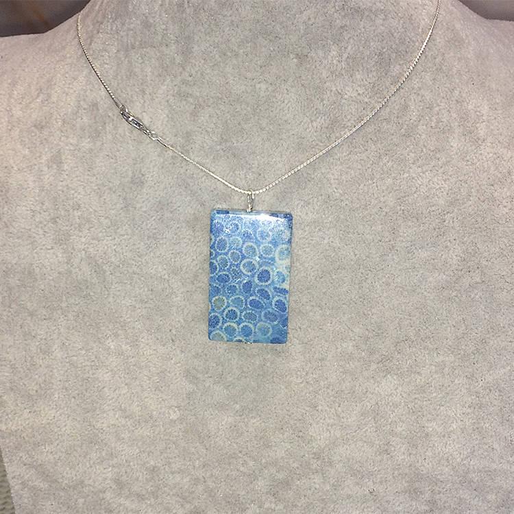 chrysanthemum-fossil-coral Necklace, Natural Gemstone Jewels, natural stone healing bracelet, Beautiful natural gemstone necklace, Beautiful natural gemstone jewelry, Beautiful minerals jewelry, handmade jewelry with natural gemstones