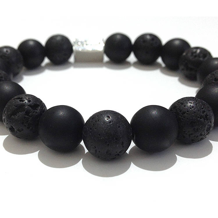 natural black obsidian bracelet, natural lava stone bracelet, gemstone bracelet, bracelet Necklace, Natural Gemstone Jewels, natural stone healing bracelet, Beautiful natural gemstone necklace, Beautiful natural gemstone jewelry, Beautiful minerals jewelry, handmade jewelry with natural gemstones