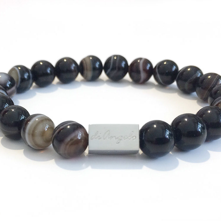 natural-coffee-striped-agate-bracelet-necklace