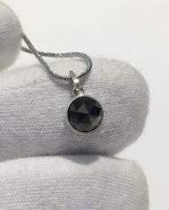 2.16Ct Fancy Black Rose Cut Natural Diamond PendentSchermata 2020-02-19 alle 15.22.02 copia AC kl