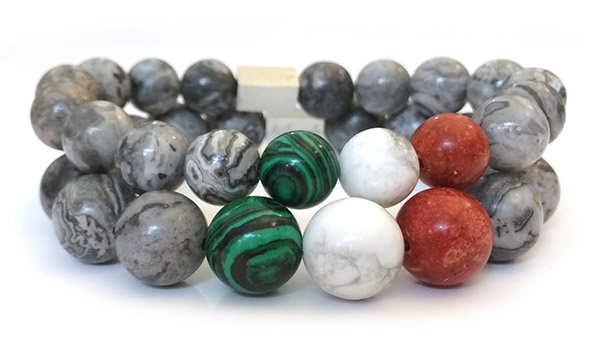 natural-malachite-howlite-red-bamboo-bracelet-necklace