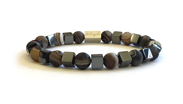 natural-coffee-striped-agate-hematite-bracelet-necklace
